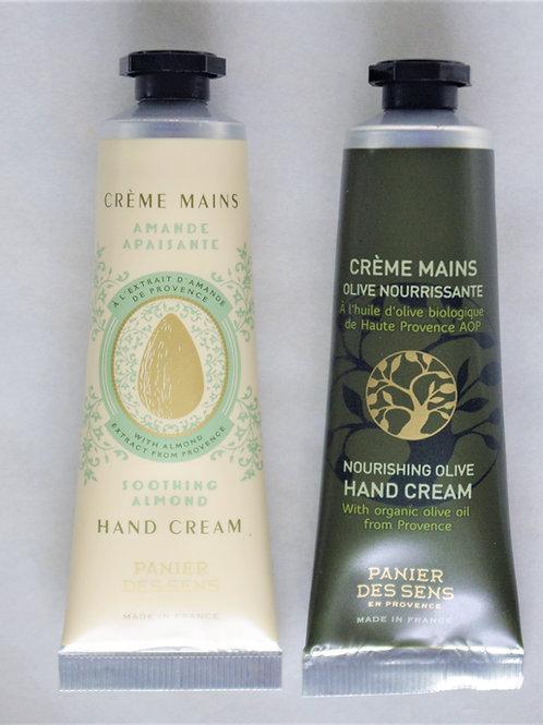 "Handcreme Mandel bzw. Olive ""Panier des Sens"" 30 mL"