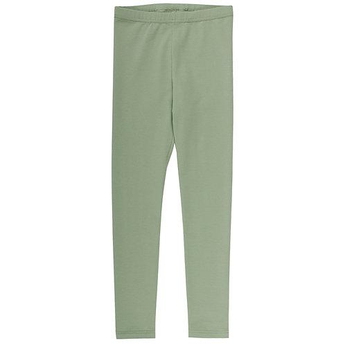 Cozy me Leggings pale moss by Green Cotton Müsli