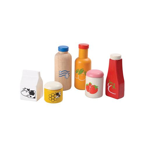 Plan Toys Esswaren und Getränkeset
