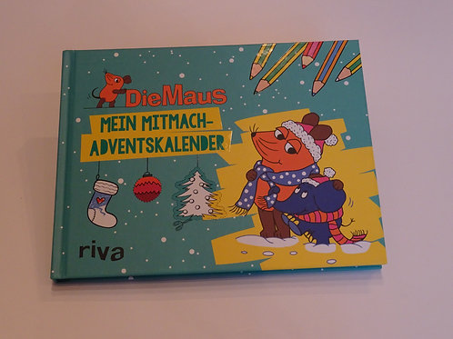 Mitmach Adventskalender Buch Die Maus