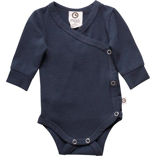 Mini me Body Gr.44 für Frühchen und kleine Baby by Green Cotton Müsli