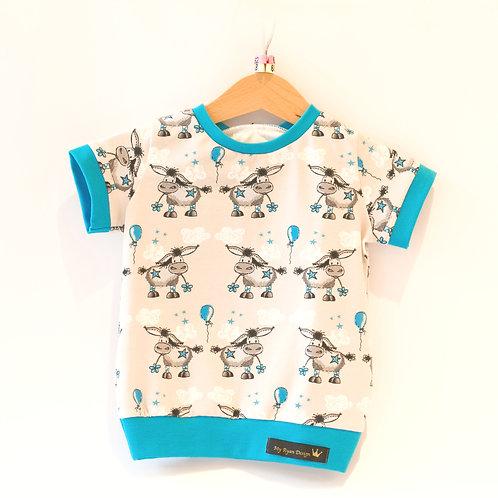 T- Shirt Eseli Gr. 62 / 68