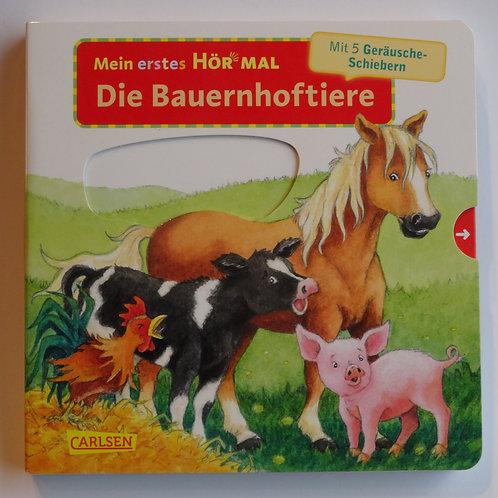 """Pappbilder- Sound Buch Mein erstes Hör mal """"Die Bauernhoftiere"""""""