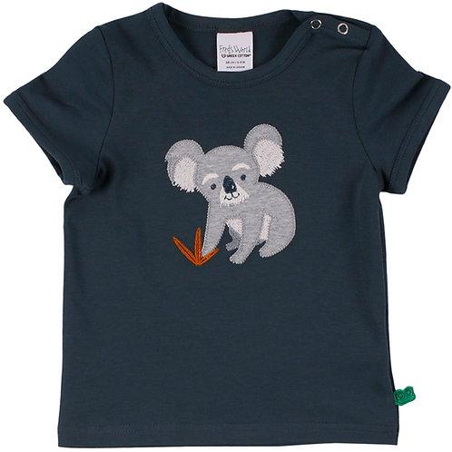 Koala kurzarm Shirt -T Shirt midnight by Green Cotton Freds World
