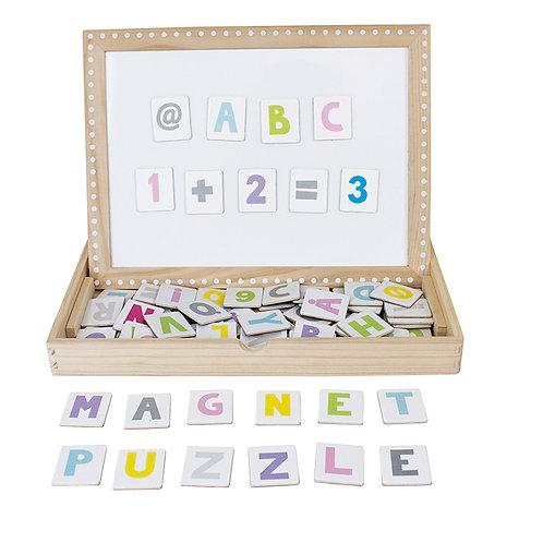 Jabadabado Magnet Puzzle aus Holz