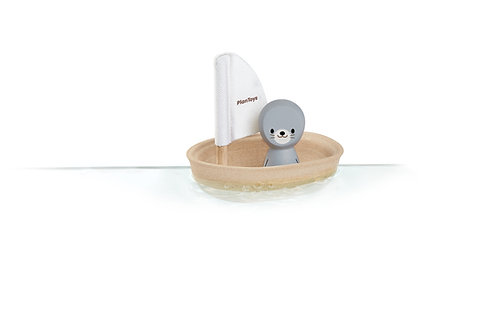 Plan Toys Segelboot Robbe