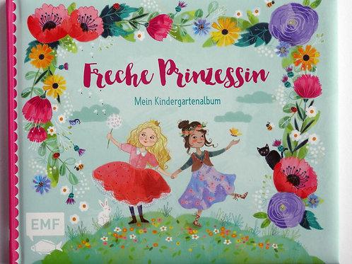 """Mein Kindergartenalbum """"Freche Prinzessin"""""""