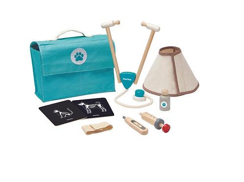 Plan Toys Tierarzt Spielset aus Holz