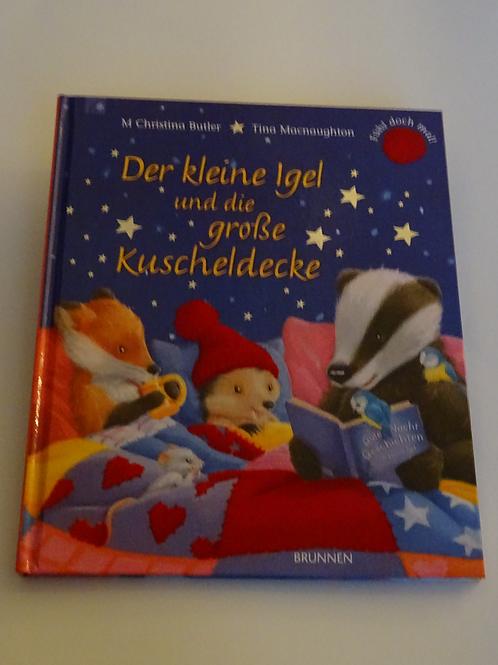 """Bilderbuch """"Der kleine Igel und die grosse Kuscheldecke"""""""