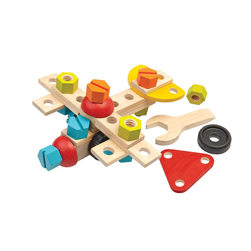 Plan Toys Construction Set Holz 40teilig