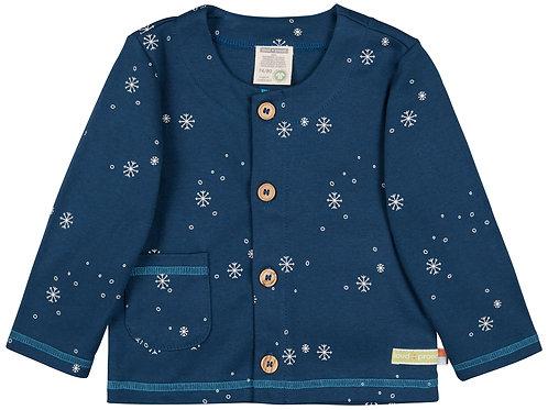Loud & Proud Jacke mit Knöpfen Schneeflocken Aufdruck Ultramarin