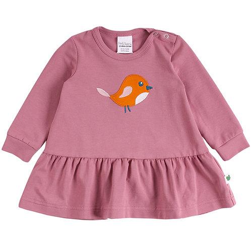 Green Cotton Fred s World Bird frill Kleid