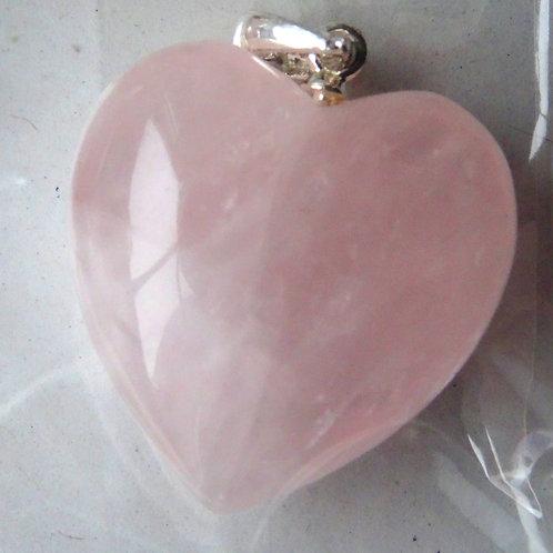 Anhänger Herz 2 cm mit Öse Silber 925
