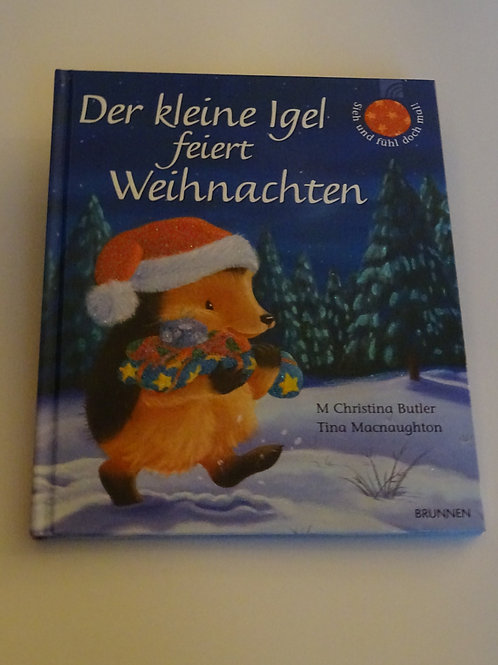 """Bilderbuch """"Der kleine Igel feiert Weihnachten"""""""