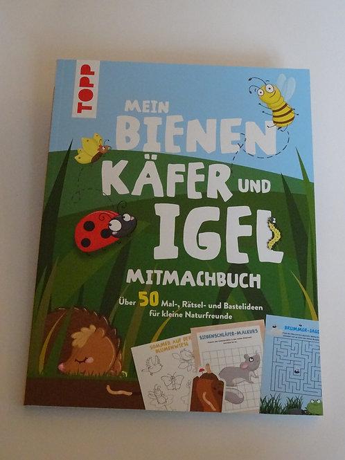 Mein Bienen Käfer und Igel Mitmachbuch