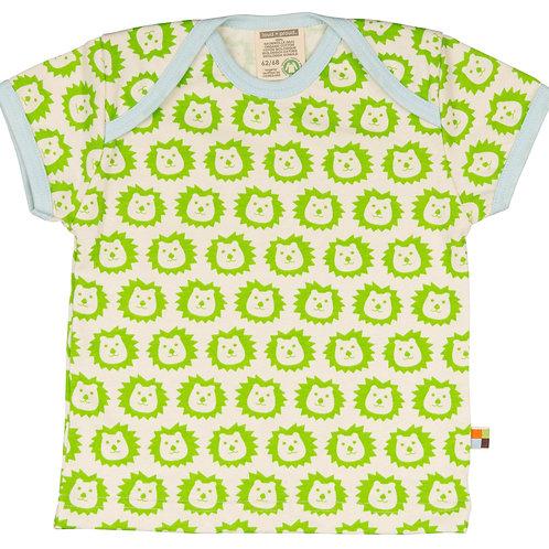 Loud and Proud T- Shirt kurzarm Löwe Lime