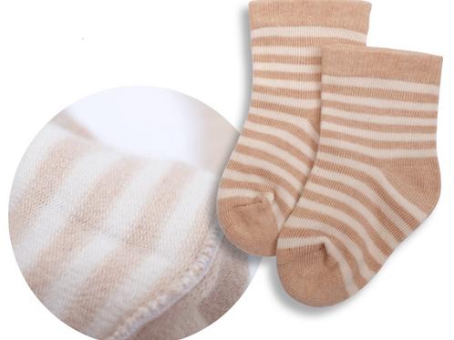 Babysocken Bio Baumwolle gestreift
