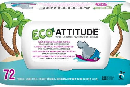 Attitude Eco Feuchttücher 72Stk.