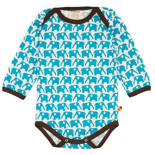 Langarm Body Elefant Aqua Loud & Proud