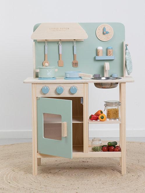 Little Dutch Kinderspielküche aus Holz adventure mint