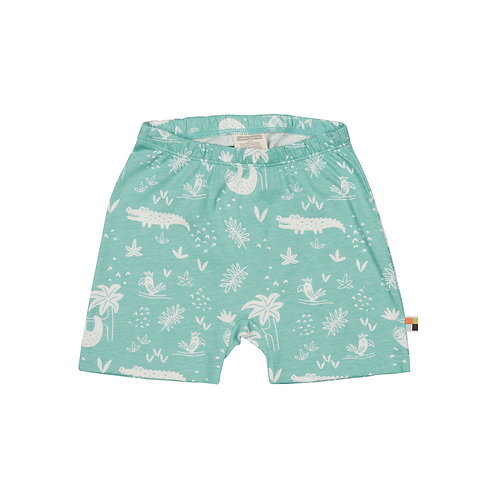 Loud& Proud Short Dschungel Mint