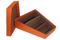 lift off lid rigid boxes with custom insert