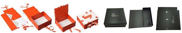 folable rigid boxes
