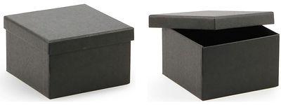 black kraft gift boxes