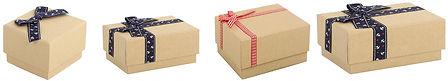 kraft git boxes