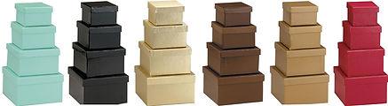 luxury nested gift boxes