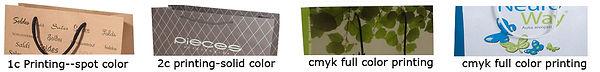 printing for luxury kraft bags