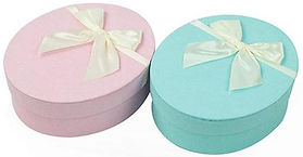 oval rigid gift boxes