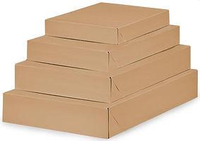 natural kraft apparel boxes