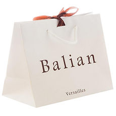 luxury Shopping bags with printed logo