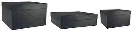 black luxury gift boxes