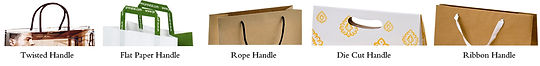 handle for kraft paperbags