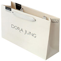 luxury paperbags with printed logo