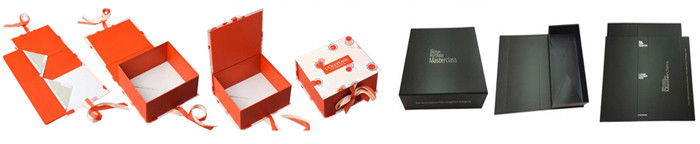 custom collapsible rigid boxes with custom printing