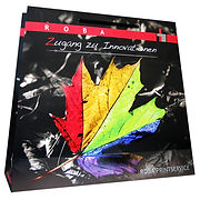trapezoid laminated paper bags