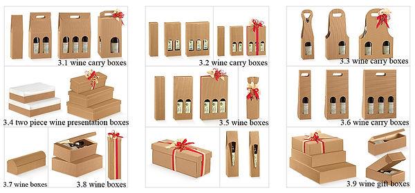 e flute wine boxes