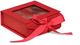 foldable gift boxes with window