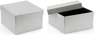 silver kraft gift boxes