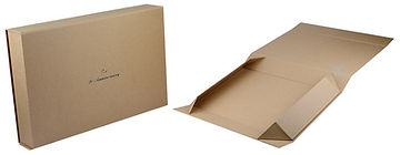 fodlable kraft rigid boxes