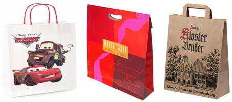 JinDian Packaging Wholesale Kraft Handle Bags
