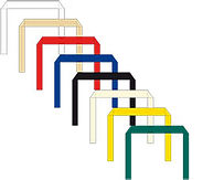 flat paper hadle for kraft bags