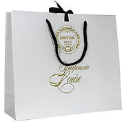 laminated paperbags with printed logo