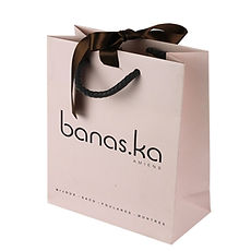luxury paper bags with printed logo