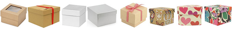 kraft rigid gift boxes