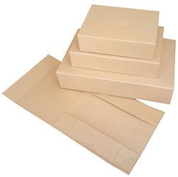 foldable kraft rigid gift boxes