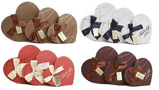 heart shape rigid gift boxes